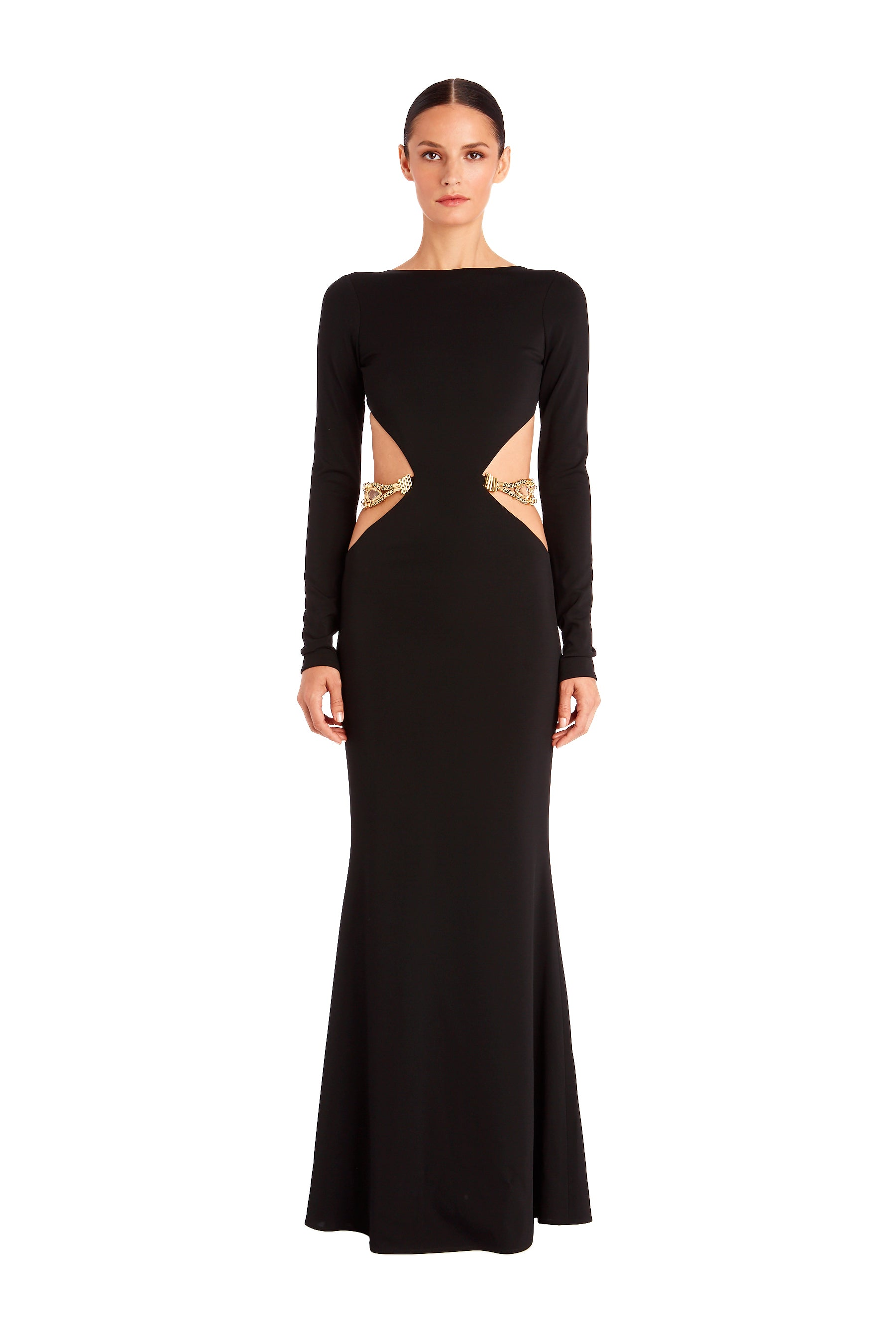 Kate Cut-Out Gown – HANEY