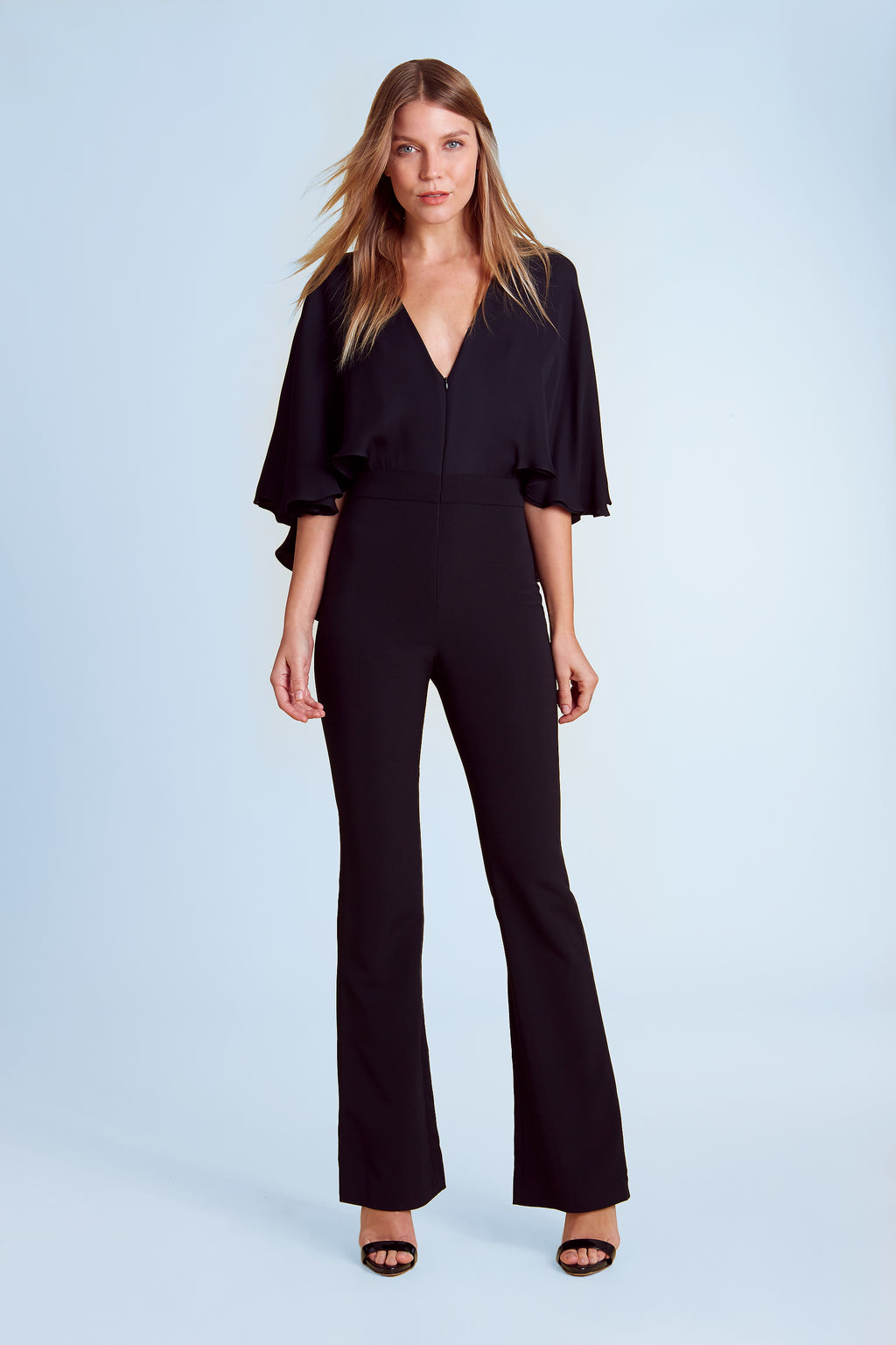 Hilary V-Neck Jumpsuit