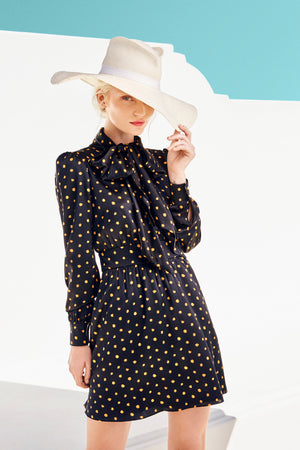 Polka Dots: Yellow/Black