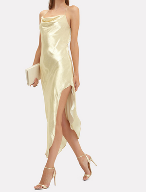 Goldie Silk Slip Dress