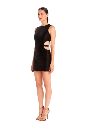 Twiggy Cut-Out Mini Dress