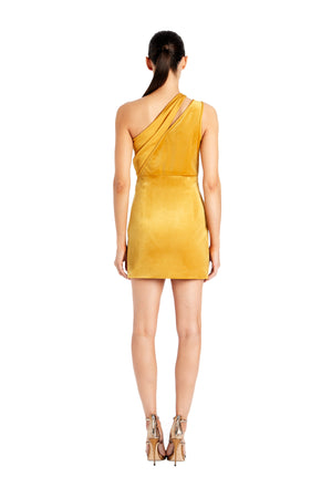 Yara Asymmetrical Mini Dress