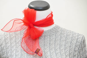 Hey Georgette: An elusive vintage red Scarf