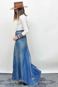 LEVI Denim Maxi Skirt