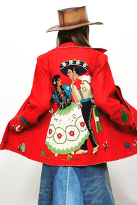 Dancing Mexicanos Coat