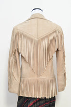 Calamity Leather Fringe Coat S/M