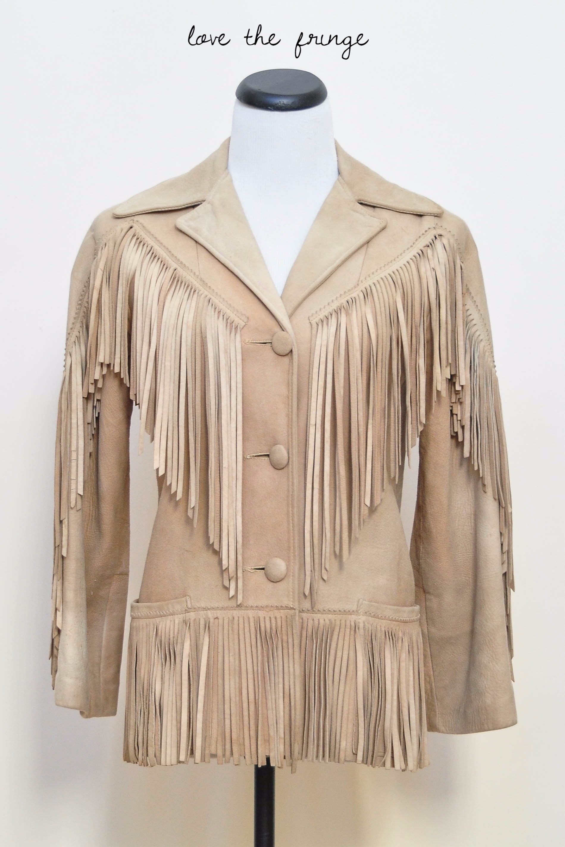 simone-river-vintage bygones antiques wares vintage clothes vintage store california vintage art  coat, fringe suede vintage coat,southwest coat