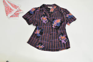 Vintage Top: I am the prettiest Short Sleeve Blouse