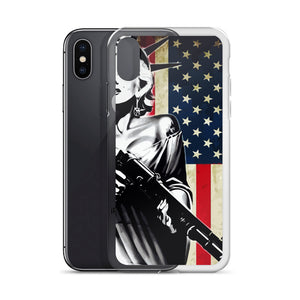 Marilyn Liberty iPhone Case