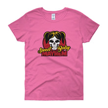 Sweet Baby Mayhem Concert T-Shirt for the Ladies