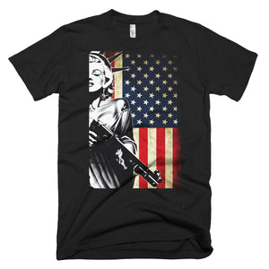 Lady Liberty Packing Short-Sleeve T-Shirt