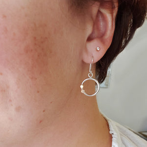 Hint Hoop Earrings