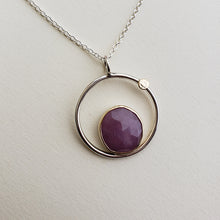 LIMITED EDITION: Pink Sapphire Eclipse Pendant