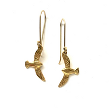 Bird in Flight Leverback Earrings