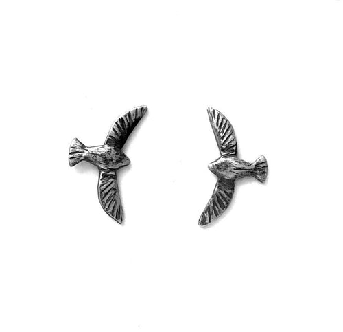 Maggie Bokor: Bird in Flight Post Earrings