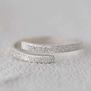 Sterling Silver Embraced Adjustable InspiRING