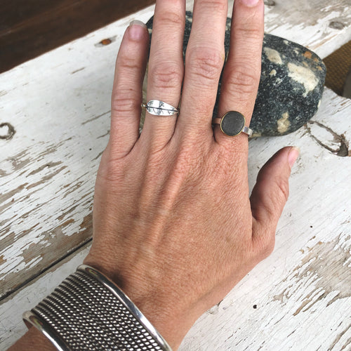 Small Stone Rings