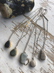 Simple Stone Pendants