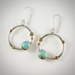 LIMITED EDITION: Turquoise Celeste Earrings