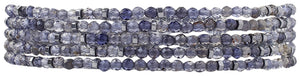Chan Luu Iolite Naked Five Wrap Bracelet or Necklace