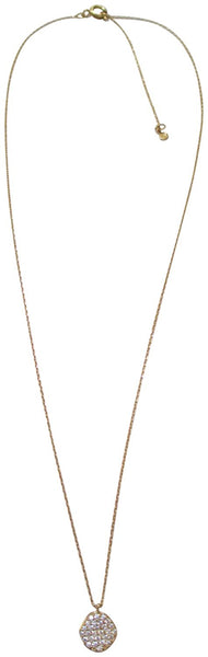 Tai 18k Gold Plated Disc Dainty Necklace