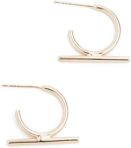 SHASHI Women's Bijou Hoop Earrings