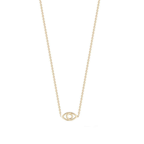 Shashi Women's Evil Eye 18K Gold Plated Pendant Necklace