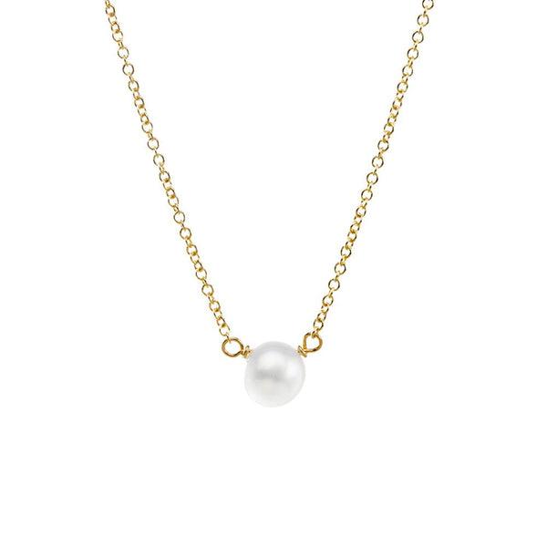 Dogeared Pearls Of Success Small Pearl Necklace