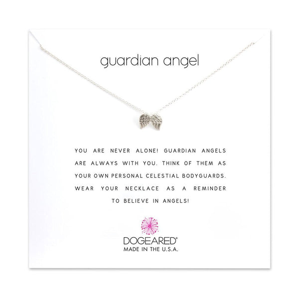 Dogeared Guardian Angel Wings Necklace