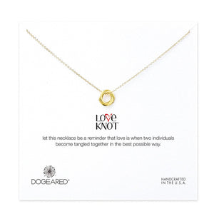 Dogeared Love Knot Necklace