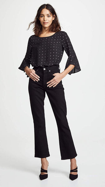 BB Dakota Women's Tell Me About It CDC Top with Studs Shirt