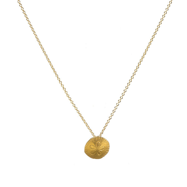 Dogeared One in a Million Sand Dollar Necklace