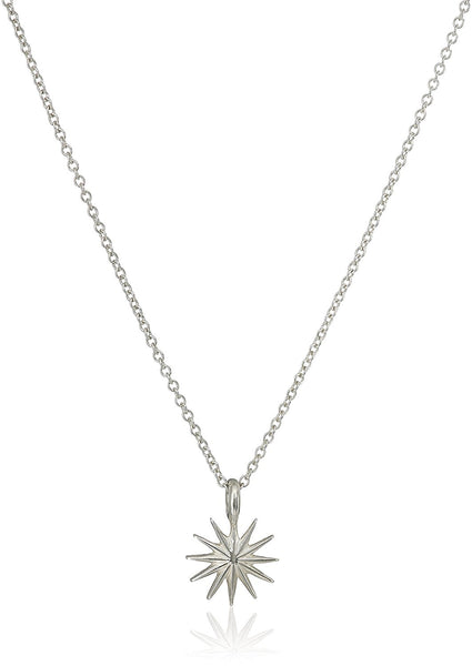 Dogeared Accomplish Magnificent Things Starburst Necklace