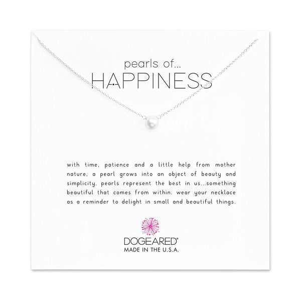Dogeared Pearls of Happiness Small Pearl Necklace