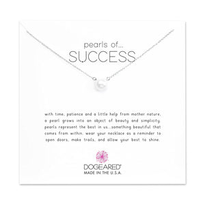 Dogeared Pearls of Success Large Pearl Necklace