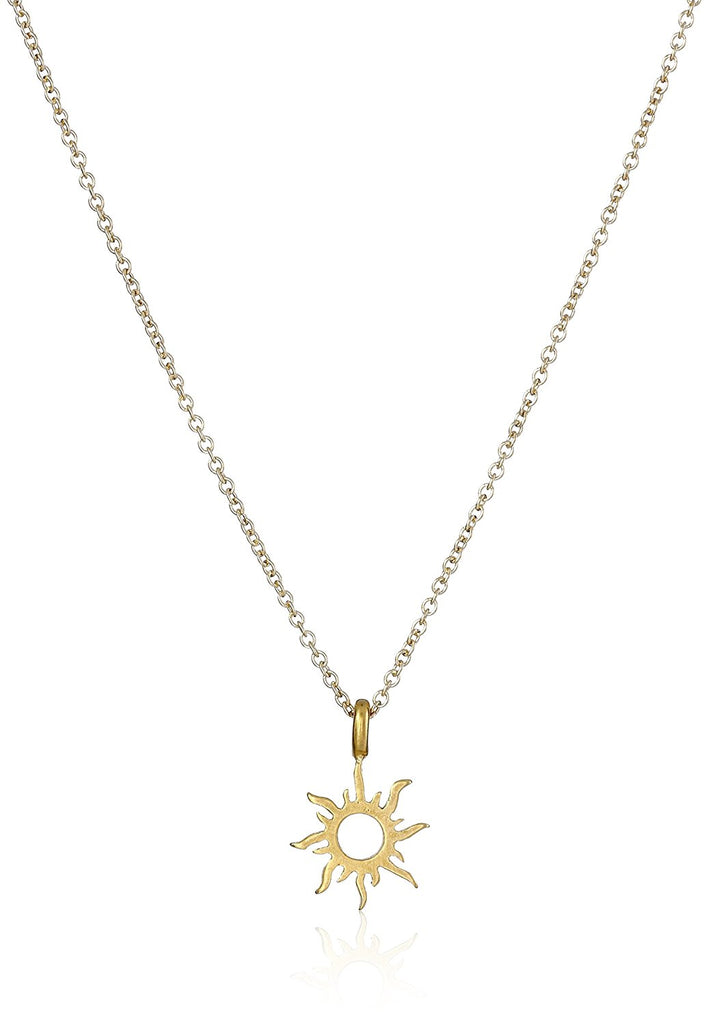 dbcc5b22366411 Dogeared Good Vibes Only Radiant Sun Necklace