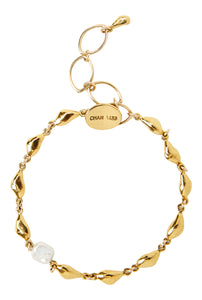 Chan Luu Gold Plated with Freshwater Cultured Pearl Adjustable Link Bracelet