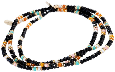 Shashi The Gang Thunder Bracelet Set - Noir Black One Size