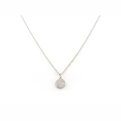 Tai Silver Plated Disc Dainty Necklace