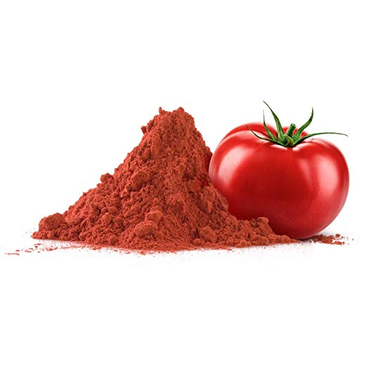 Tomato Powder - 1 lb (16 oz) - Pure, Fine Ground, Dehydrated, Gluten Free, Non-GMO, 100% Vegan, No Preservatives or Additives in Eco-Friendly Packaging Bulk Pack