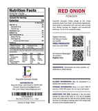 Red Onion Powder - 1 lb (16 oz) - Pure, Fine Ground, Dehydrated, Gluten Free, Non-GMO, 100% Vegan, No Preservatives in Eco-Friendly Packaging Bulk Pack