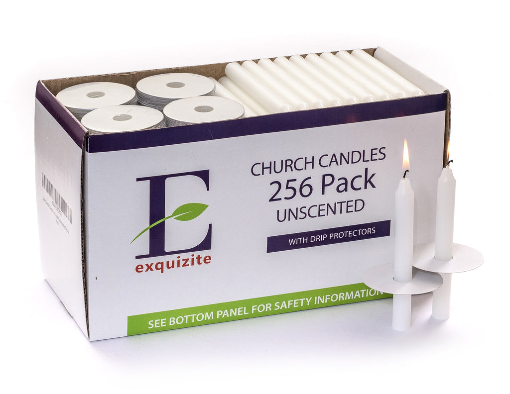 256 White Spell Candles