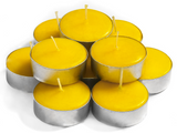 Citronella Scented Tealights Candles - 30 Pack