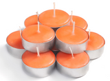 Peach Scented Tealights Candles - 30 Pack