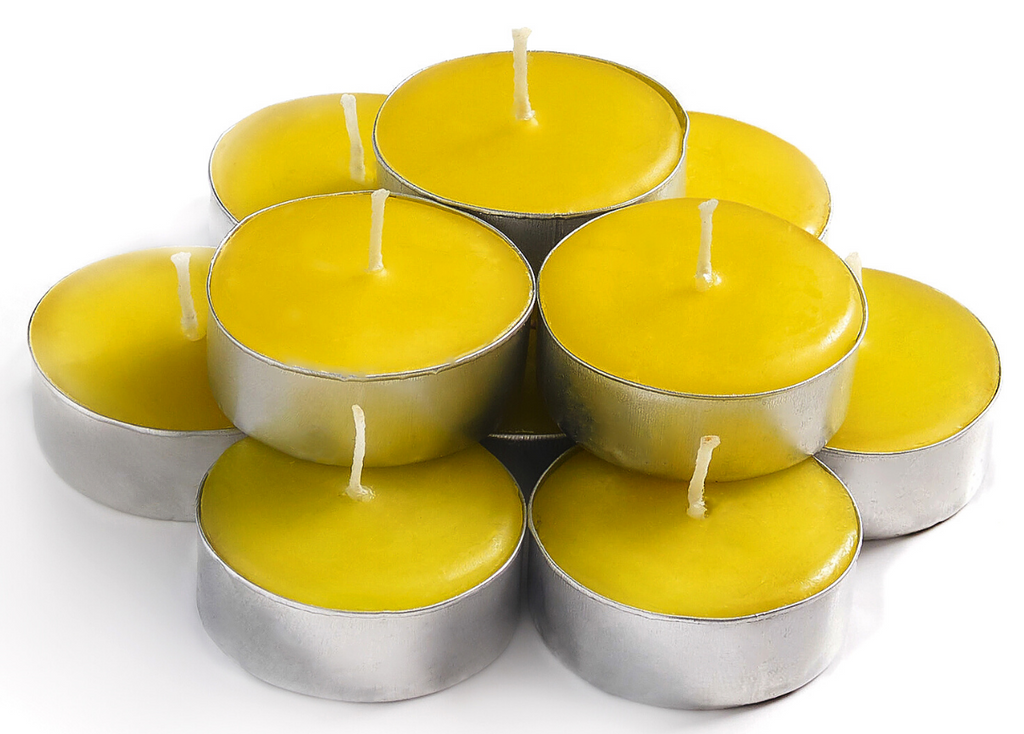White Lily Scented Tealights Candles - 30 Pack