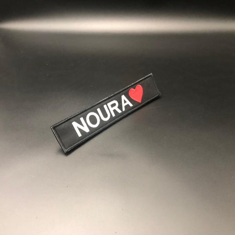 Name Patch with Emoji (Velcro)