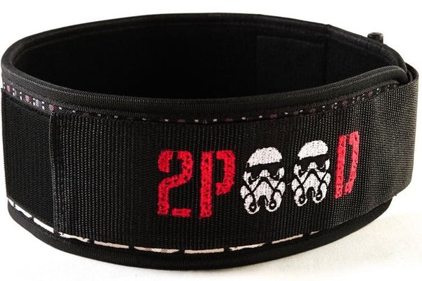 Stormtrooper Straight Weightlifting Belt-2POOD-The WOD Guys