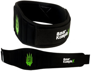 "Bear Komplex Strength Belt w/ 6""-Belts-The WOD Guys"