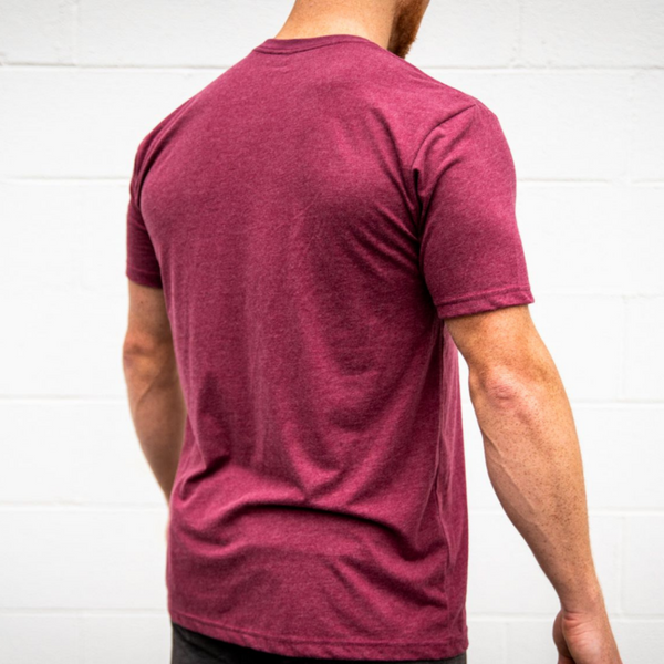 2POOD Maroon Kettlebell T-Shirt-2POOD-The WOD Guys