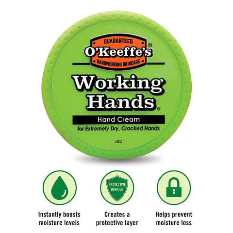 thewodguys-com - O'Keeffe's Working Hands Hand Cream Jar - Hand care